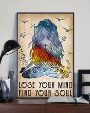 Yoga Lose Your Mind Find Your Soul 11x17 Poster lifestyle-poster-2