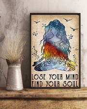 Yoga Lose Your Mind Find Your Soul 11x17 Poster lifestyle-poster-3