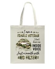 Veteran I Am A Female Veteran Tote Bag tile