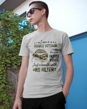 Veteran I Am A Female Veteran Classic T-Shirt apparel-classic-tshirt-lifestyle-17