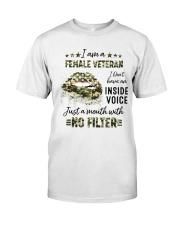 Veteran I Am A Female Veteran Classic T-Shirt front