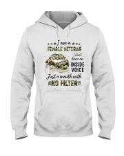 Veteran I Am A Female Veteran Hooded Sweatshirt tile