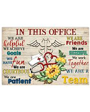 Nurse In This Office 17x11 Poster front