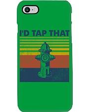 Firefighter I'd Tap That Phone Case tile