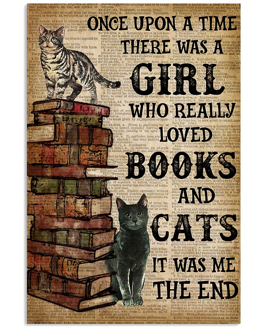 Books Once Upon A Time There Was A Girl Poster 16x24 Poster