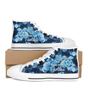 Turtle Save The Turtle Men's High Top White Shoes thumbnail