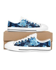 Turtle Save The Turtle Men's Low Top White Shoes thumbnail