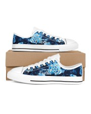 Turtle Save The Turtle Women's Low Top White Shoes inside-left-outside-left