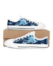 Turtle Save The Turtle Women's Low Top White Shoes inside-right-outside-right