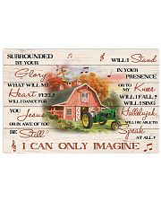 Farmer Surrounded By Your Glory Poster 17x11 Poster front