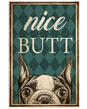 Boston Terier Nice Butt 11x17 Poster front