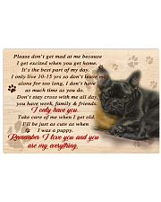 French Bulldog Remember I Love You 17x11 Poster front