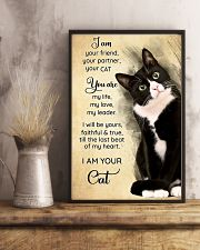 Cat I Am Your Friend Poster 16x24 Poster lifestyle-poster-3