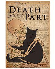 Cat Till Death Do US Part 16x24 Poster front