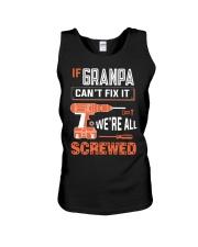 Granpa If Can't Fix Unisex Tank tile