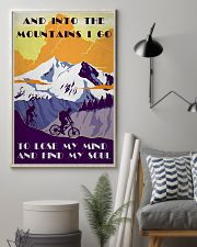 Cycling And Into The Mountains 11x17 Poster lifestyle-poster-1