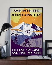 Cycling And Into The Mountains 11x17 Poster lifestyle-poster-2
