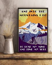 Cycling And Into The Mountains 11x17 Poster lifestyle-poster-3