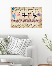 Ballet God Says You Are Poster 24x16 Poster poster-landscape-24x16-lifestyle-01