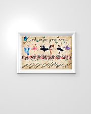 Ballet God Says You Are Poster 24x16 Poster poster-landscape-24x16-lifestyle-02