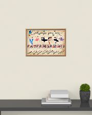 Ballet God Says You Are Poster 24x16 Poster poster-landscape-24x16-lifestyle-09