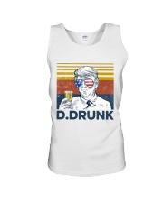 Beer D Drunk Unisex Tank tile