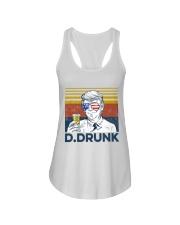 Beer D Drunk Ladies Flowy Tank tile