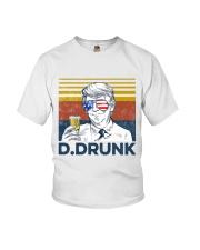 Beer D Drunk Youth T-Shirt tile