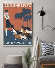 Cat And She Lived Happily Ever After 16x24 Poster lifestyle-poster-1