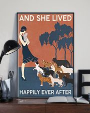Cat And She Lived Happily Ever After 16x24 Poster lifestyle-poster-2