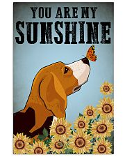 Beagle You Are My Sunshine Poster 11x17 Poster front