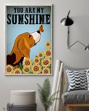 Beagle You Are My Sunshine Poster 11x17 Poster lifestyle-poster-1