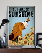 Beagle You Are My Sunshine Poster 11x17 Poster lifestyle-poster-2