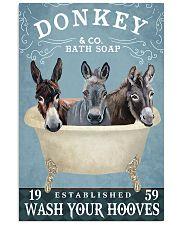 Donkey Bath Soap Co 11x17 Poster front