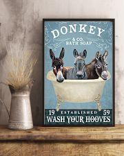 Donkey Bath Soap Co 11x17 Poster lifestyle-poster-3
