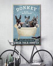 Donkey Bath Soap Co 11x17 Poster lifestyle-poster-7
