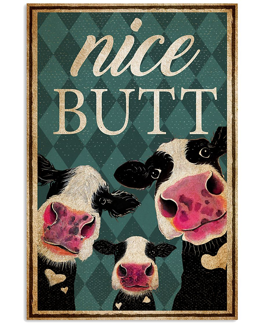 Cow Nice Butt Poster 11x17 Poster