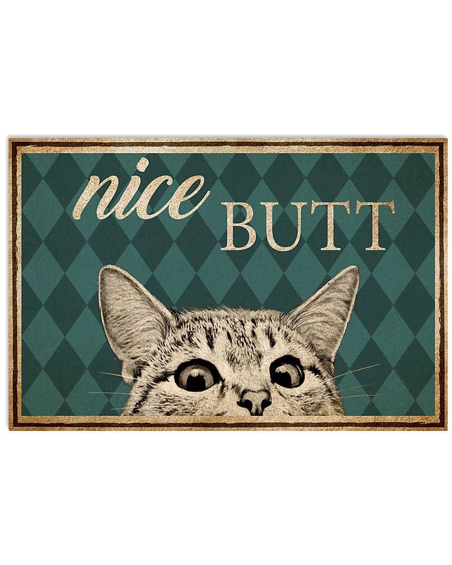 Cat Nice Butt Poster 17x11 Poster