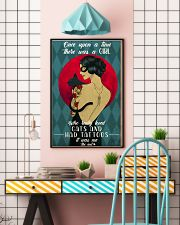 Cat Once Upon A Time There Was A Girl Poster 16x24 Poster lifestyle-poster-6