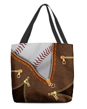 BASEBALL BEAUTY TOTEBAG All-over Tote front