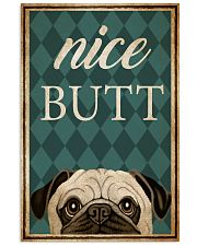 Pug Nice Butt 16x24 Poster front