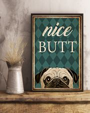 Pug Nice Butt 16x24 Poster lifestyle-poster-3