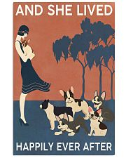 French Bulldog And She Lived Happily Ever 11x17 Poster front