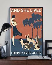 French Bulldog And She Lived Happily Ever 11x17 Poster lifestyle-poster-2
