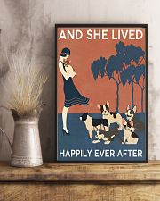 French Bulldog And She Lived Happily Ever 11x17 Poster lifestyle-poster-3