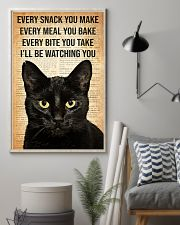 Cat Every Snack You Make 16x24 Poster lifestyle-poster-1