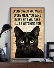 Cat Every Snack You Make 16x24 Poster lifestyle-poster-2