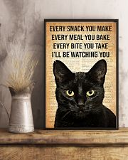 Cat Every Snack You Make 16x24 Poster lifestyle-poster-3