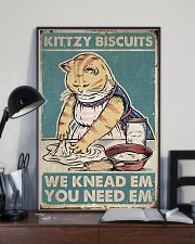 Cat Kittzy Biscuit 16x24 Poster lifestyle-poster-2