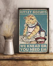 Cat Kittzy Biscuit 16x24 Poster lifestyle-poster-3